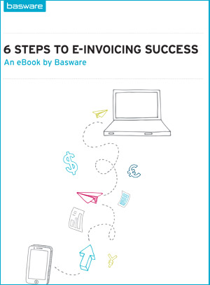 ebook 6 steps to e-invoicing success cover
